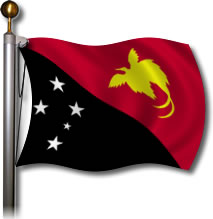 Flag - Papua New Guinea